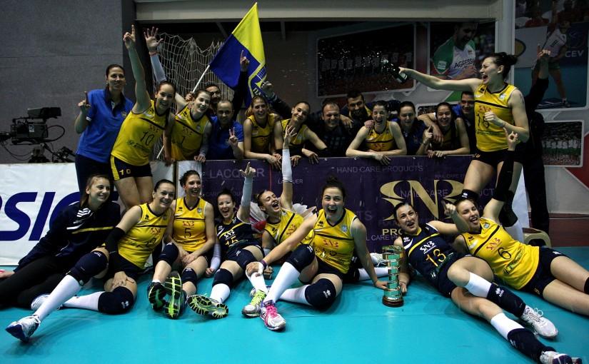 Волейболен клуб Марица спечели Купата на България за 2015!